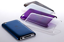 Simplism Crystal Cover Set for iPod touch (4th)