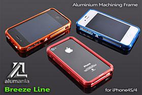 alumania BREEZE LINE for iPhone 4S/4