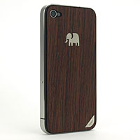 TRUNKET wood skin for iPhone4S/4(背面のみ)