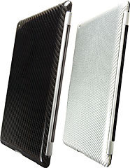GRAPHT Real Carbon Case/Glass Fiber Case for iPad 2