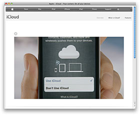 Apple - iCloud - Your content. On all your devices.