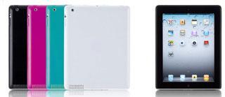 Semi Hard Case Set for iPad