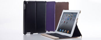 Smart Leather Shell for iPad