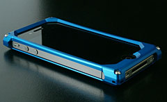 Flow Veil for iPhone 4 シャイニングブルー