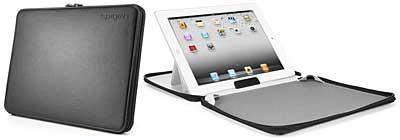 The new iPad (第3世代)/iPad2 レザーケース ジパック