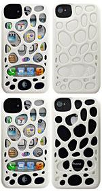 Freshfiber Double Cap Pebble/Macedonia for iPhone 4S/4