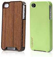 Liquid Wood / Colorant Case for iPhone 4/4S