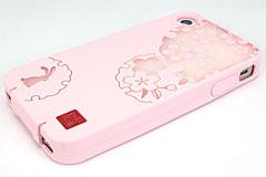 和彩美「ふるる」iPhone 4S/4用柔装飾カバー