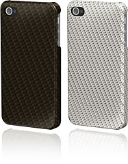 Ultima Series Real Carbon/Glass Fiber Case for iPhone 4/4S