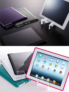 Simplism Crystal Cover Set/Semi Hard Case Set for iPad (3rd)