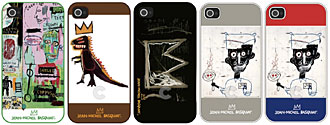 Jean-Michel Basquiat Collection Bezel Case for iPhone 4/4S