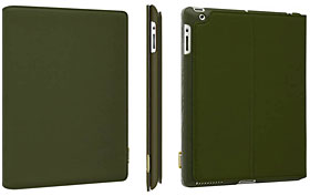 SwitchEasy CANVAS for the new iPad (2012) / iPad 2 Military Green