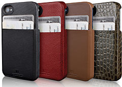 HEX Solo Leather Wallet for iPhone 4S/4