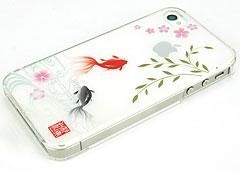 和彩美『ふるる』:iPhone 4S/4用堅(かたき)装飾カバー透し