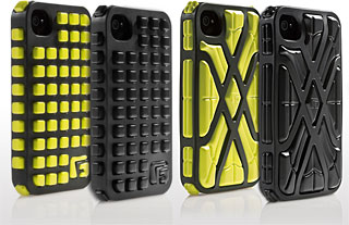 G-FORM Extreme Grid for iPhone(200-PDA080)/G-FORM X-PROTECT for iPhone(200-PDA081)