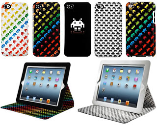 SPACE INVADERS iPhone/iPod touch/iPadケース