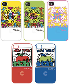Keith Haring Collection Bezel Case for iPhone 4/4S