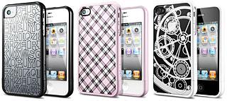 SPIGEN SGP iPhone4/4S ケース リニア アリス/ヴェラート/クロックワーク