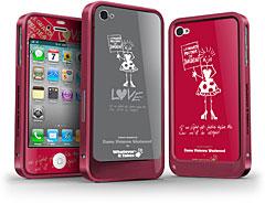Whatever It Takes iPhone 4S/4用プレミアムアルミバンパーパック