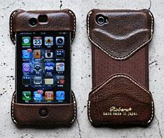 ROBERU iPhone 4,4S Case モカブラウン
