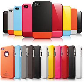 elago S4 Glide Case for iPhone 4/4Sとelago S4 Slim Fit for iPhone 4/4S