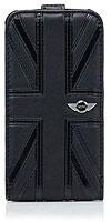 MINI Union Jack Flip PU Leather Case for iPhone 4S/4
