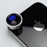 Wide & Macro Lens for iPhone 4S&4/smartphone