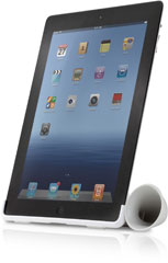 New iPad Horn Stand