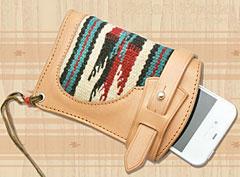 ORTEGA Rug × Leather Smart Phone Case