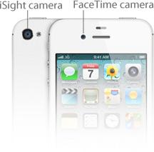 FaceTimeカメラとiSightカメラ