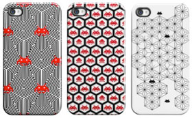 Case Scenario SPACE INVADERS for iPhone 4S/4