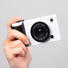 iPhone 4S・4対応カメラ型カバー(EEA-YW0749)