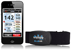 Wahoo Fitness 心拍計 Blue HR for iPhone 4S
