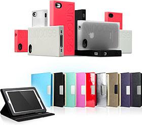 IncaseとCygnettブランドのiPhone/iPadケース