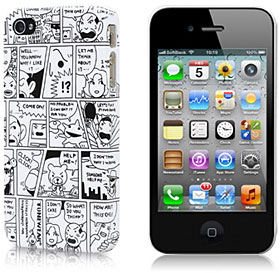 Comic Case for iPhone 4S/4