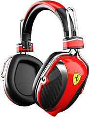 Ferrari by Logic3 P200 オーバーイヤーヘッドフォン (Red)