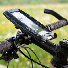 Armor-X Waterproof Ultimate Protection Bike Mount for iPhone/iPod touch