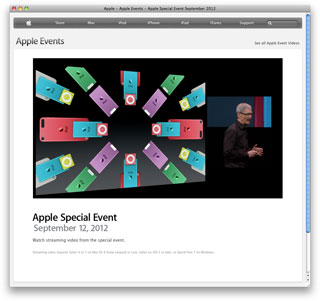 Apple - Apple Events - Apple Special Event September 2012