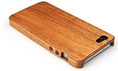 LIFE iPhone 5木製ケース