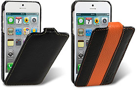 iPhone 5用高級本革ケース(Jacka type/LC柄・Limited Edition)