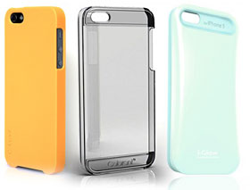 Colorant Case C1/C2/i-Glow Pastel Case for iPhone 5