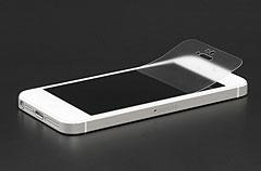 パワーサポートのiPhone 5用液晶保護フィルム