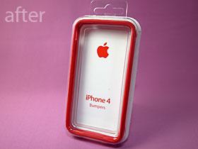 iPhone 4 Bumperのパッケージ