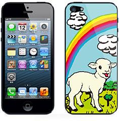 iDentity iPhone 5用背面スキンシールカバー