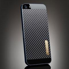 SPIGEN SGP iPhone 5 スキンガード [カーボン・ブラック]