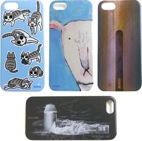 バード電子のiPhone 5用デザインケース