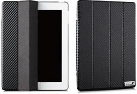 New iPad monCarbone Portfolio Carbon Fiber Case