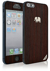 TRUNKET wood skin for iPhone 5