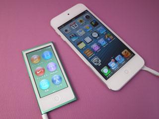 iPod nanoとiPod touch