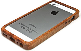 LIFE iPhone 5ケース・カバー/木製バンパー